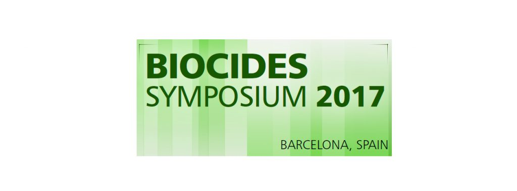 Biocides Symposium 2017 – Barcelona, Spain