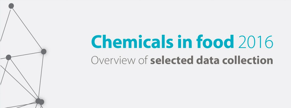 EFSA report: Chemicals in food 2016