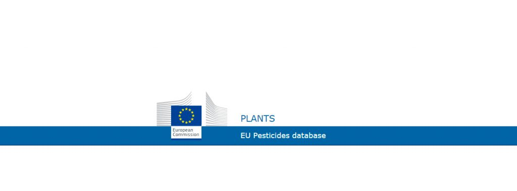Eu pesticides database updates – 2nd quater 2017