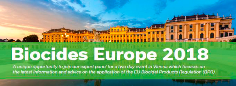 Meet with Kaeltia's regulatory experts at the Biocides 21st Annual Conference in Vienna!